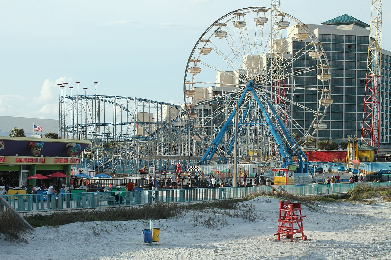 Daytona Beach Roller Coaster Derails With Pengers On