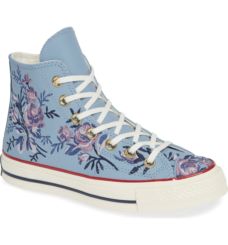 700294133005 Converse Releases Their New Floral Sneaker Collection Just in Time for Fall