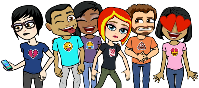 Bitmoji TV lets you choose your avatar