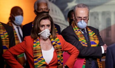 US Democrats in Kente Cloth