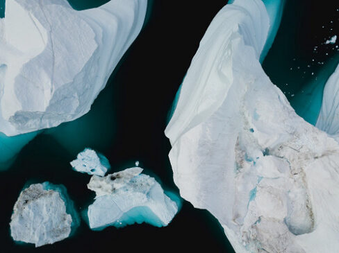 greenhouse gas is the reason why ice melts in the arctic region